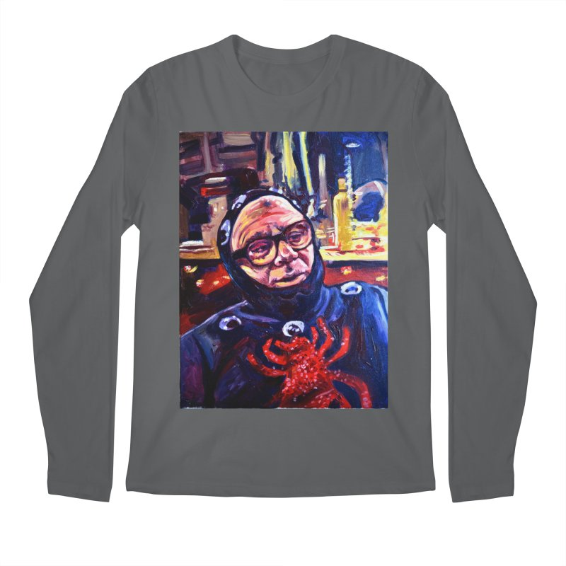 man-spider Men's Longsleeve T-Shirt by paintings by Seamus Wray