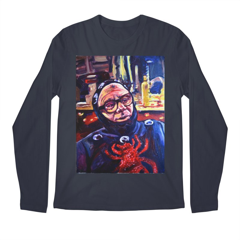 man-spider Men's Regular Longsleeve T-Shirt by paintings by Seamus Wray