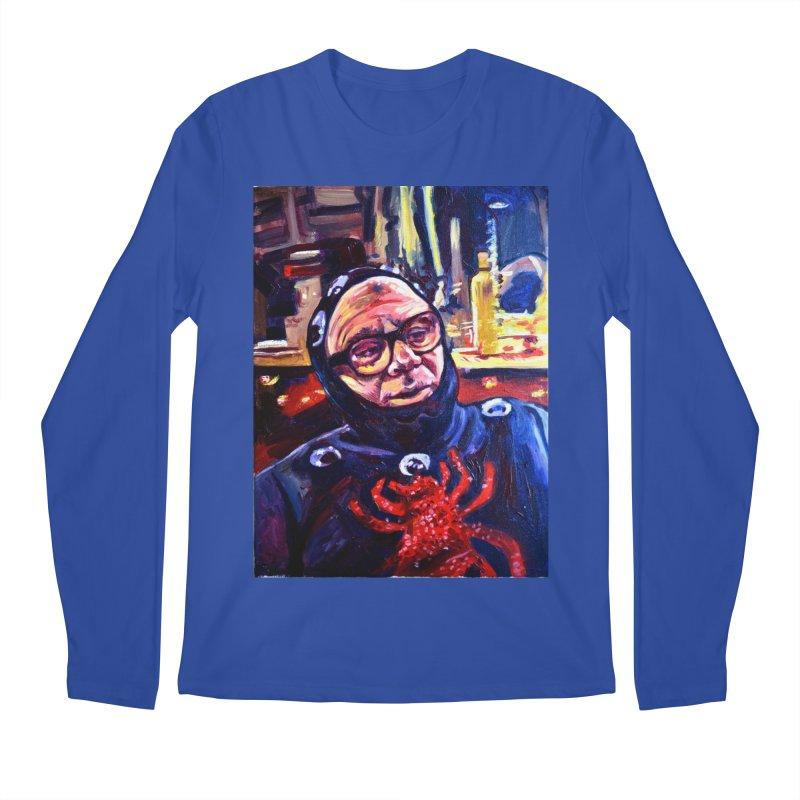 man-spider Men's Regular Longsleeve T-Shirt by paintings by Seamus Wray