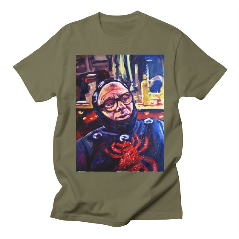 man-spider Men's Regular T-Shirt by paintings by Seamus Wray
