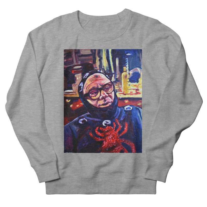 man-spider Women's French Terry Sweatshirt by paintings by Seamus Wray