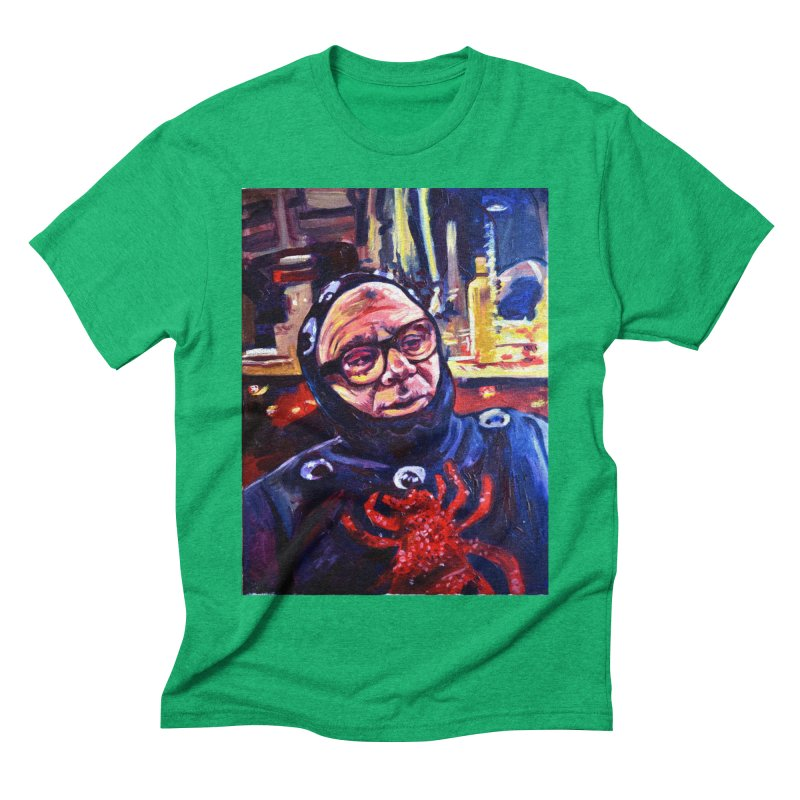 man-spider Men's Triblend T-Shirt by paintings by Seamus Wray