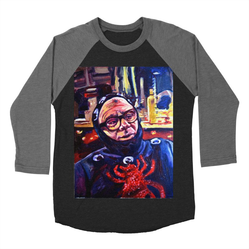 man-spider Women's Baseball Triblend Longsleeve T-Shirt by paintings by Seamus Wray