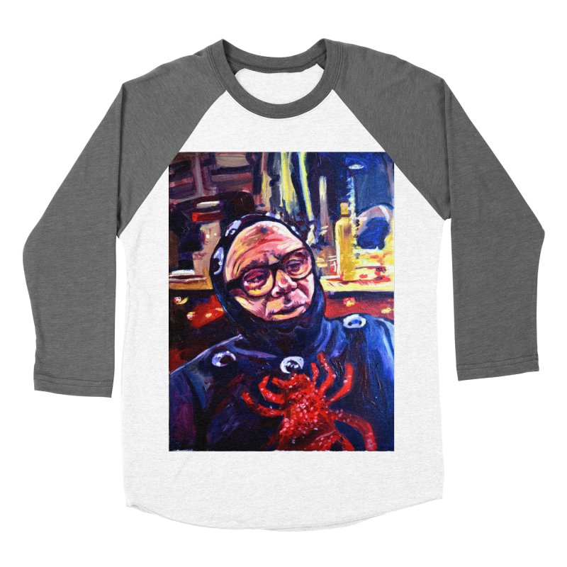 man-spider Men's Baseball Triblend Longsleeve T-Shirt by paintings by Seamus Wray