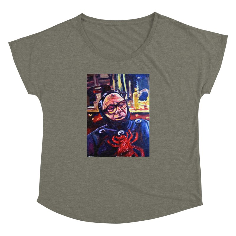 man-spider Women's Dolman Scoop Neck by paintings by Seamus Wray