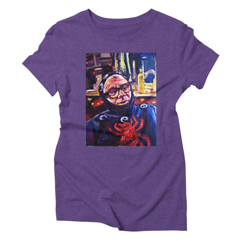 man-spider Women's Triblend T-Shirt by paintings by Seamus Wray