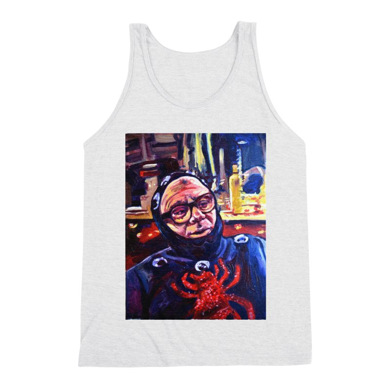 man-spider Men's Triblend Tank by paintings by Seamus Wray