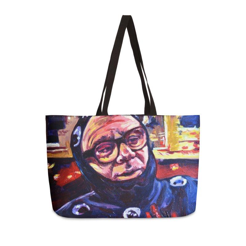man-spider Accessories Weekender Bag Bag by paintings by Seamus Wray
