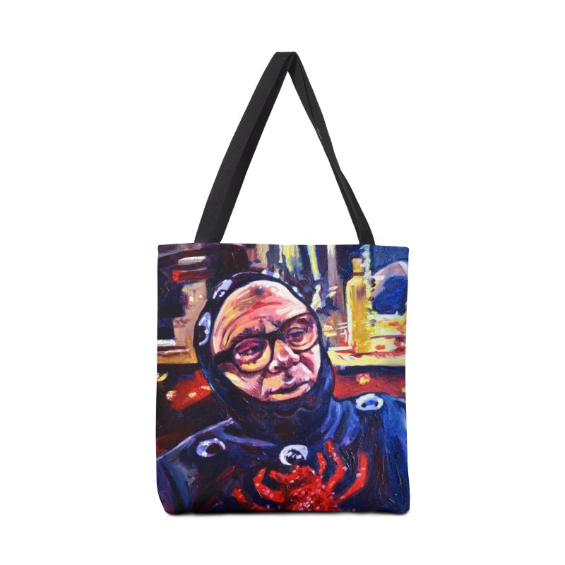 man-spider Accessories Tote Bag Bag by paintings by Seamus Wray