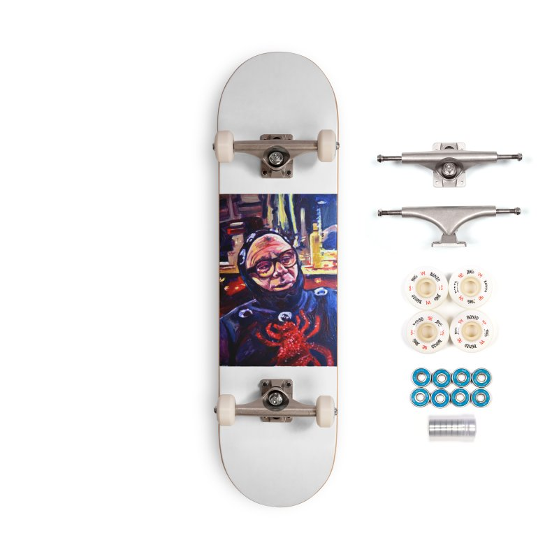 man-spider Accessories Complete - Premium Skateboard by paintings by Seamus Wray