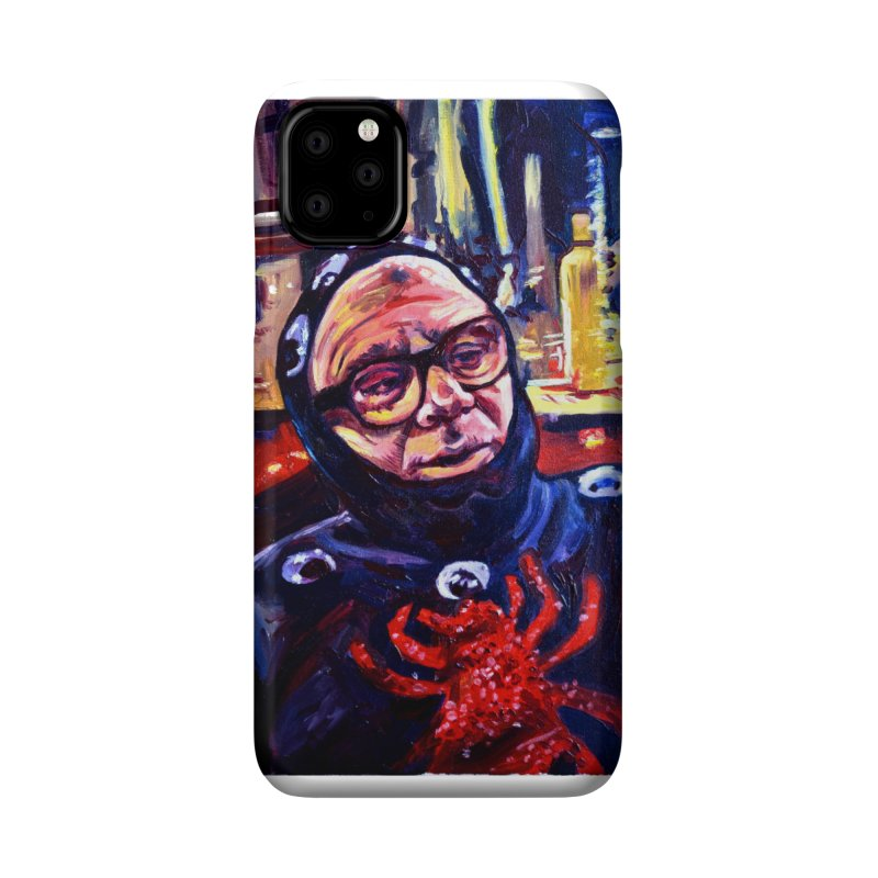man-spider Accessories Phone Case by paintings by Seamus Wray