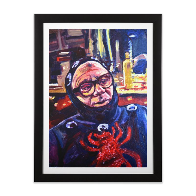 man-spider Home Framed Fine Art Print by paintings by Seamus Wray