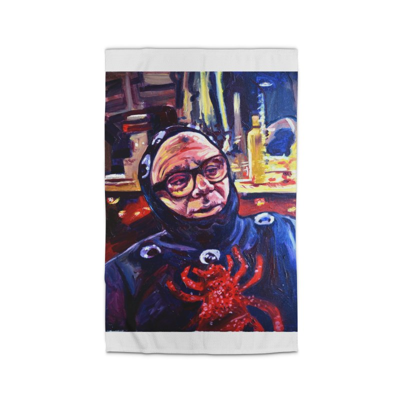 man-spider Home Rug by paintings by Seamus Wray
