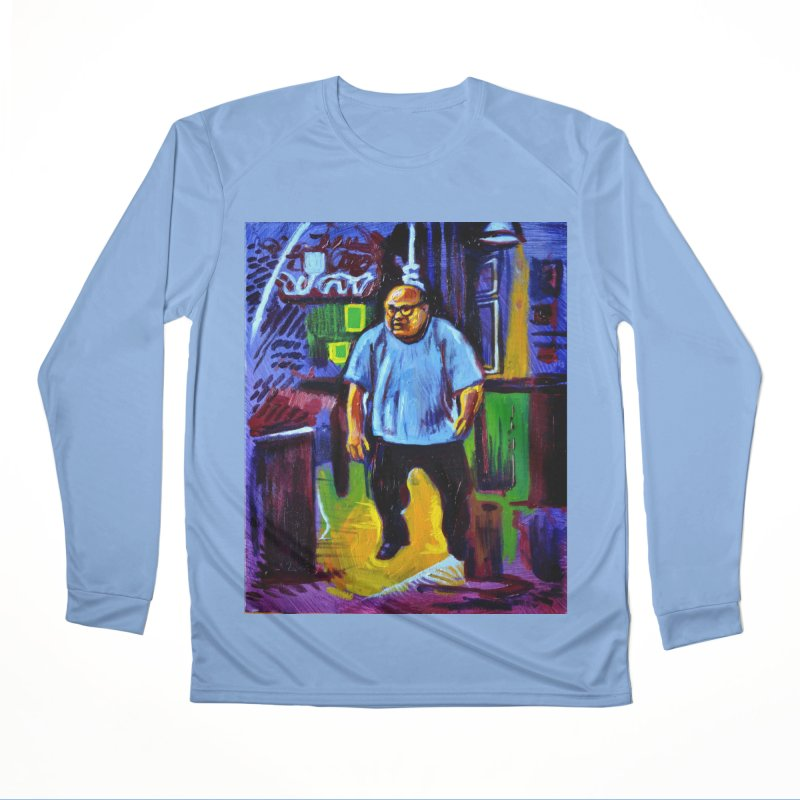 dangling Men's Performance Longsleeve T-Shirt by paintings by Seamus Wray