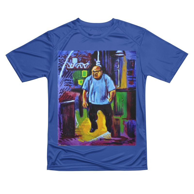 dangling Men's Performance T-Shirt by paintings by Seamus Wray