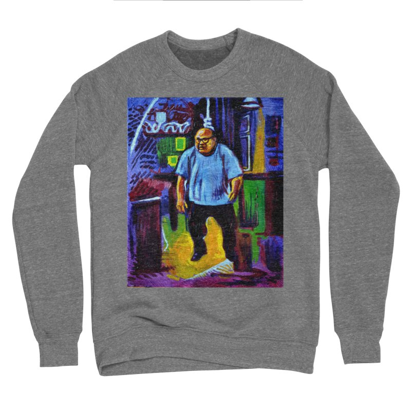 dangling Men's Sponge Fleece Sweatshirt by paintings by Seamus Wray