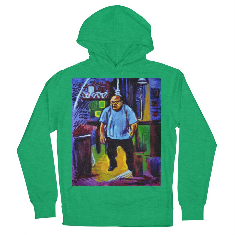 dangling Women's French Terry Pullover Hoody by paintings by Seamus Wray