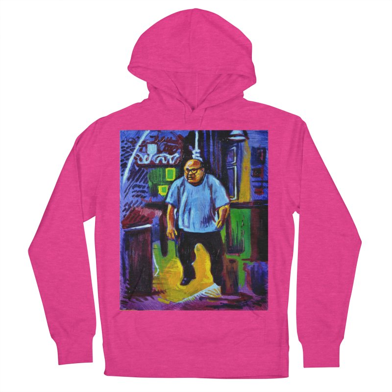 dangling Men's French Terry Pullover Hoody by paintings by Seamus Wray