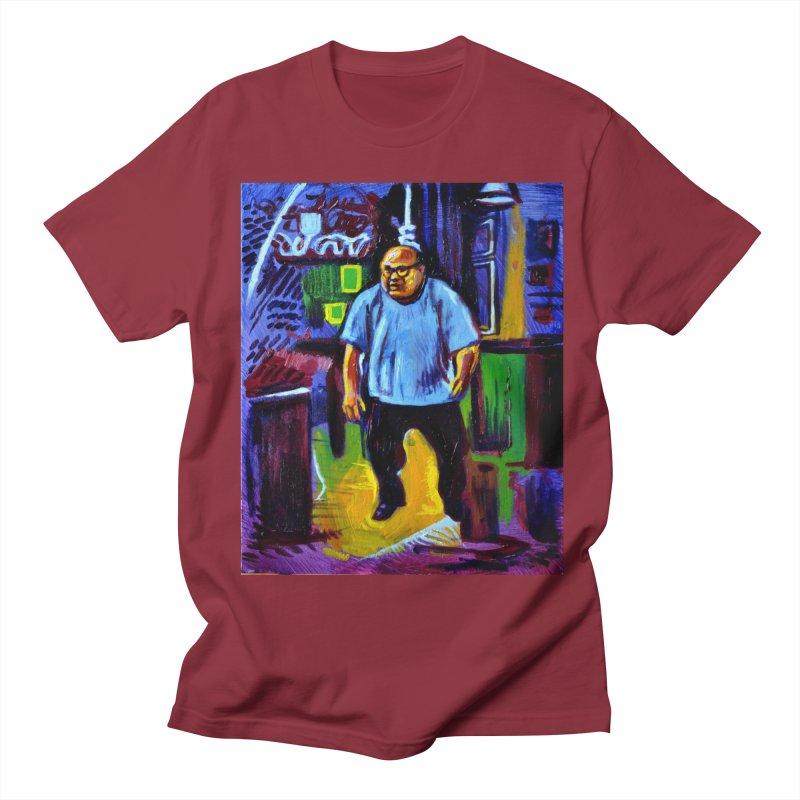 dangling Men's Regular T-Shirt by paintings by Seamus Wray