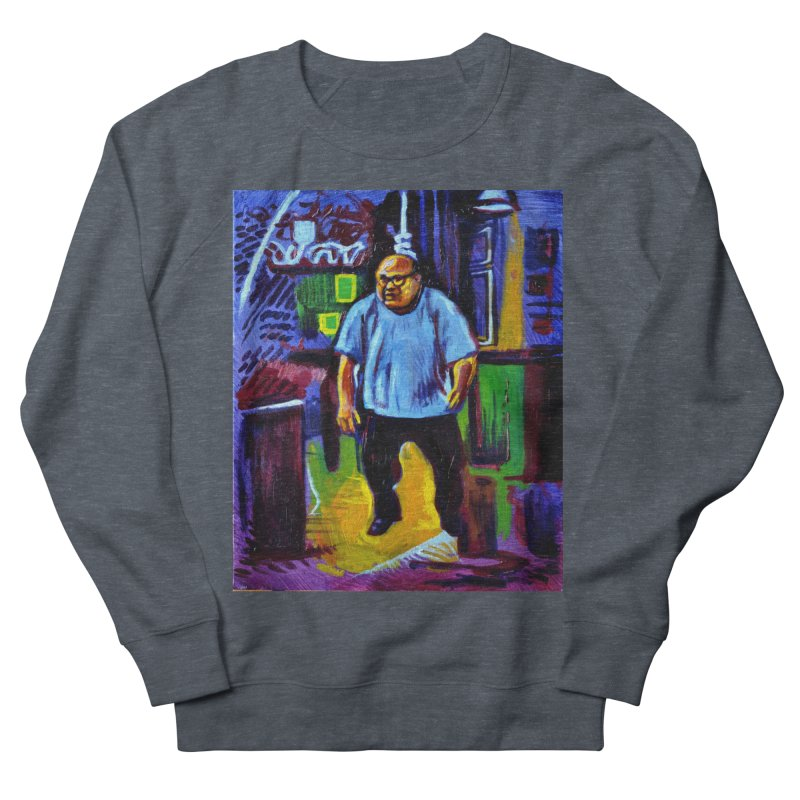 dangling Women's French Terry Sweatshirt by paintings by Seamus Wray