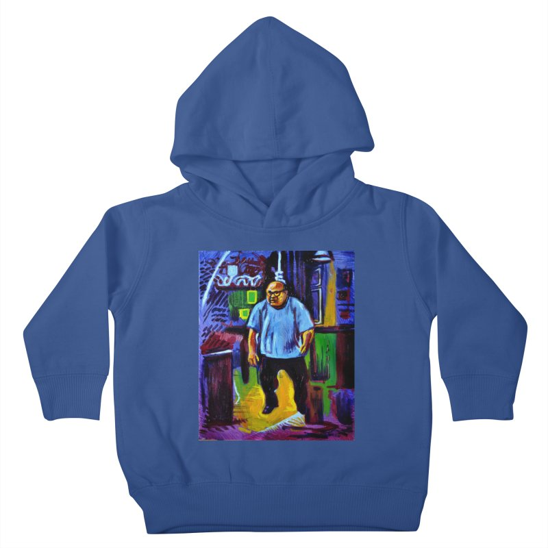 dangling Kids Toddler Pullover Hoody by paintings by Seamus Wray