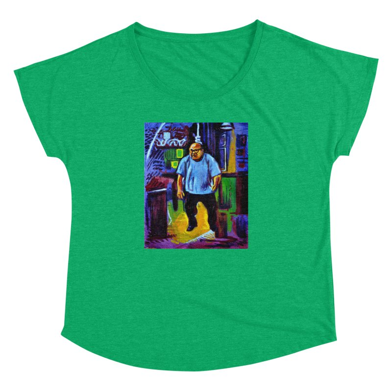 dangling Women's Dolman Scoop Neck by paintings by Seamus Wray