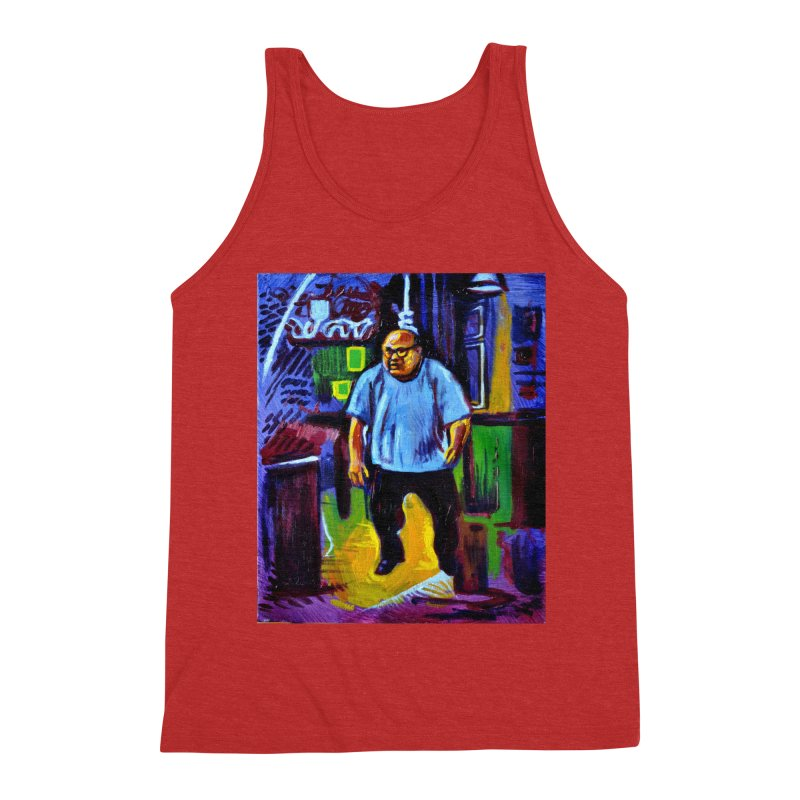 dangling Men's Triblend Tank by paintings by Seamus Wray