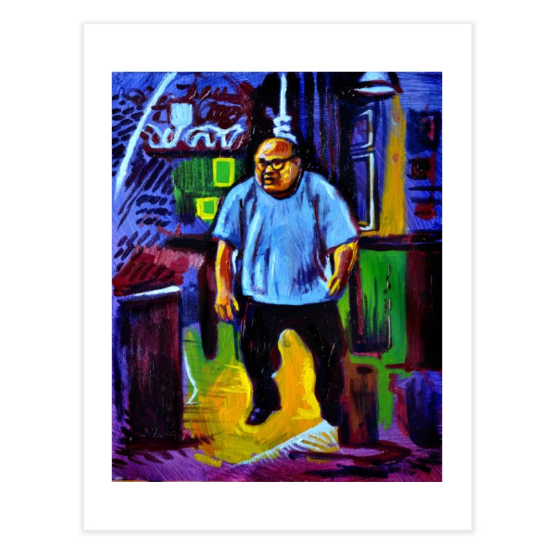 dangling Home Fine Art Print by paintings by Seamus Wray