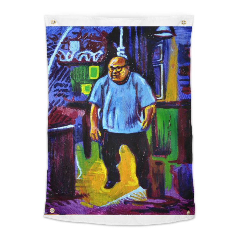 dangling Home Tapestry by paintings by Seamus Wray
