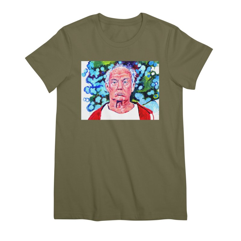 old man trump Women's Premium T-Shirt by paintings by Seamus Wray