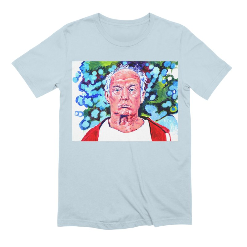 old man trump Men's Extra Soft T-Shirt by paintings by Seamus Wray