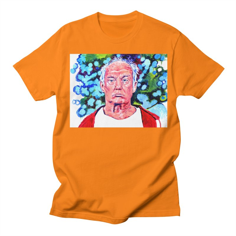 old man trump Men's Regular T-Shirt by paintings by Seamus Wray