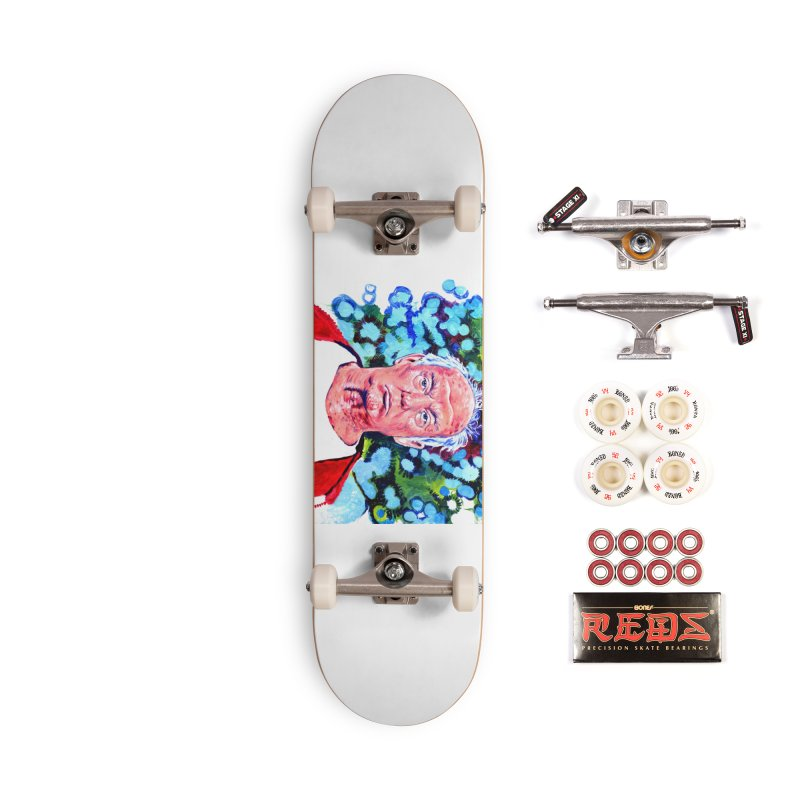 old man trump Accessories Complete - Pro Skateboard by paintings by Seamus Wray