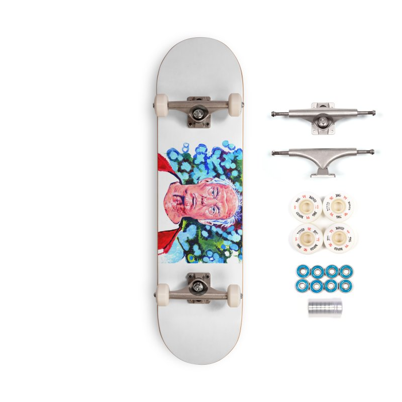 old man trump Accessories Complete - Premium Skateboard by paintings by Seamus Wray