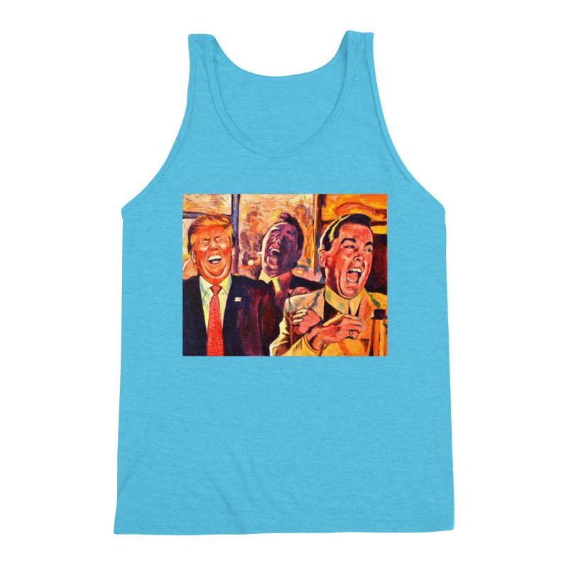 goodfellas Men's Triblend Tank by paintings by Seamus Wray