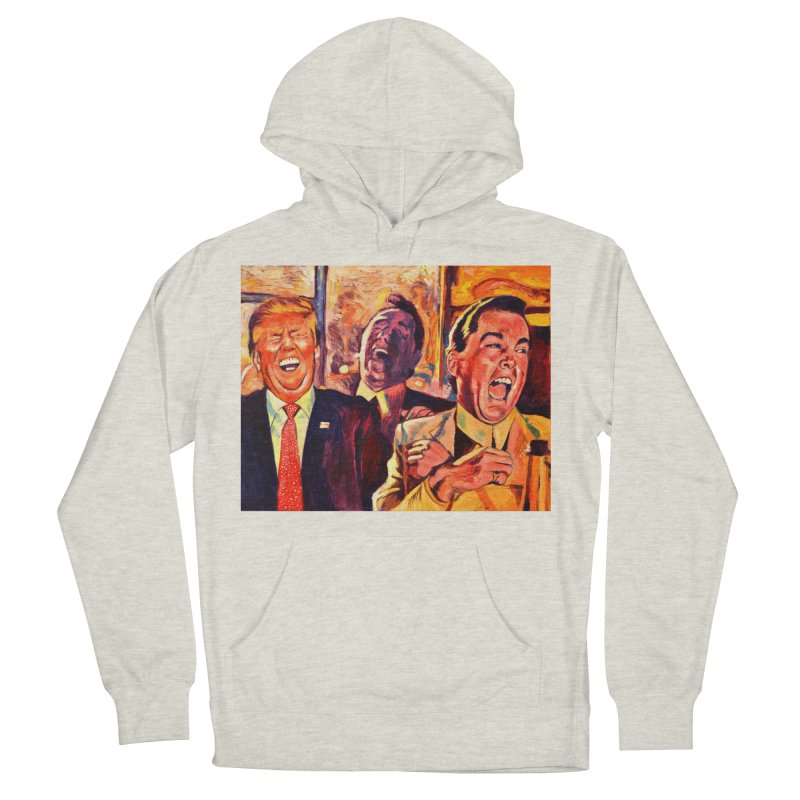 goodfellas Women's French Terry Pullover Hoody by paintings by Seamus Wray