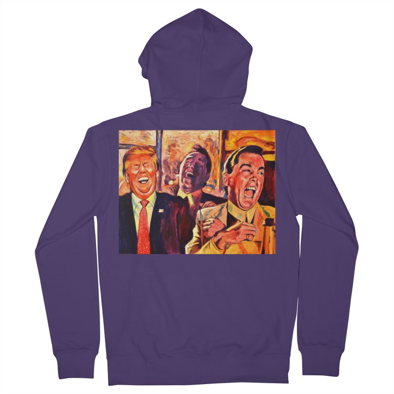 goodfellas Women's French Terry Zip-Up Hoody by paintings by Seamus Wray