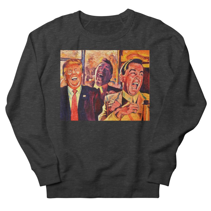 goodfellas Men's French Terry Sweatshirt by paintings by Seamus Wray