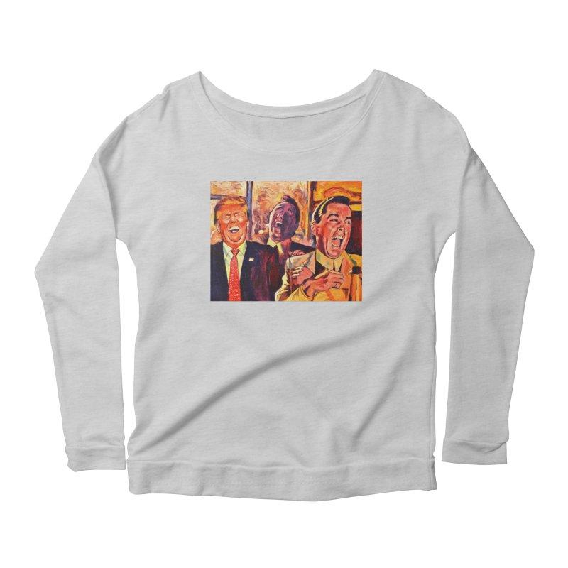 goodfellas Women's Scoop Neck Longsleeve T-Shirt by paintings by Seamus Wray