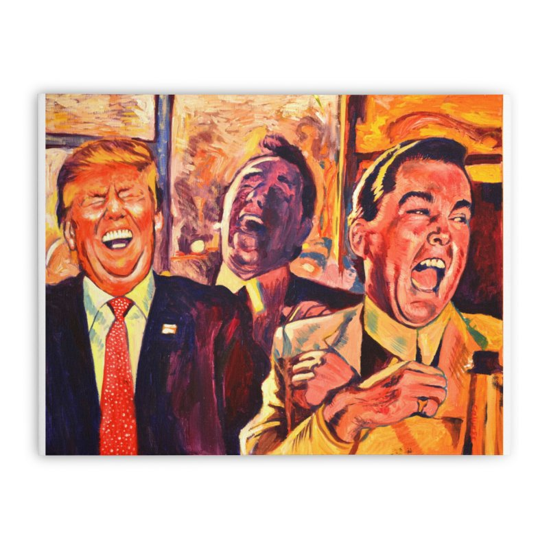 goodfellas Home Stretched Canvas by paintings by Seamus Wray