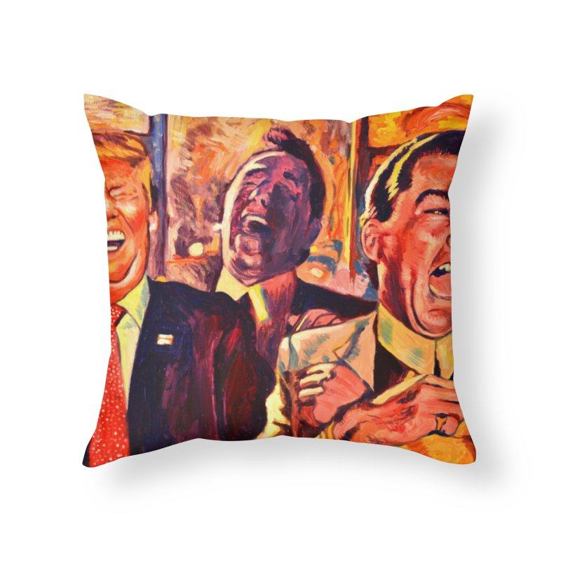 goodfellas Home Throw Pillow by paintings by Seamus Wray