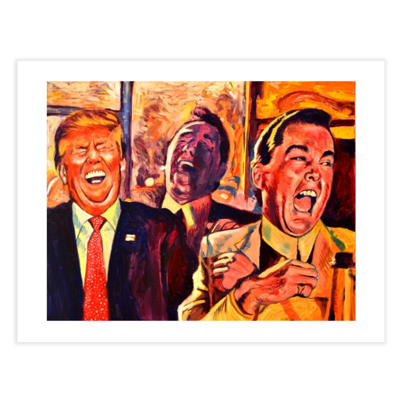 goodfellas Home Fine Art Print by paintings by Seamus Wray