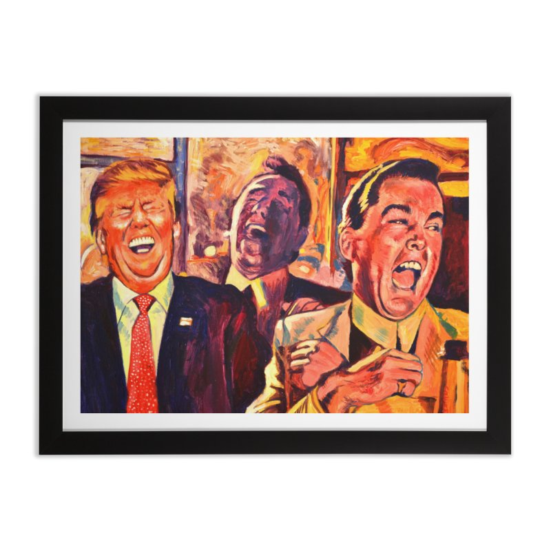 goodfellas Home Framed Fine Art Print by paintings by Seamus Wray