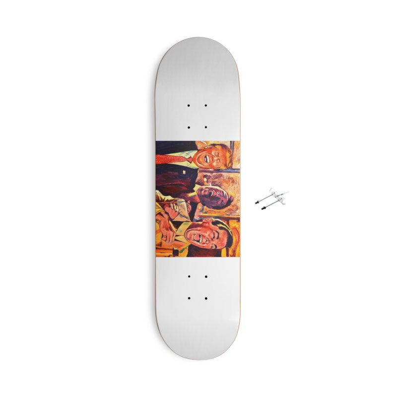 goodfellas Accessories With Hanging Hardware Skateboard by paintings by Seamus Wray