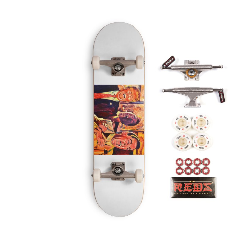 goodfellas Accessories Complete - Pro Skateboard by paintings by Seamus Wray