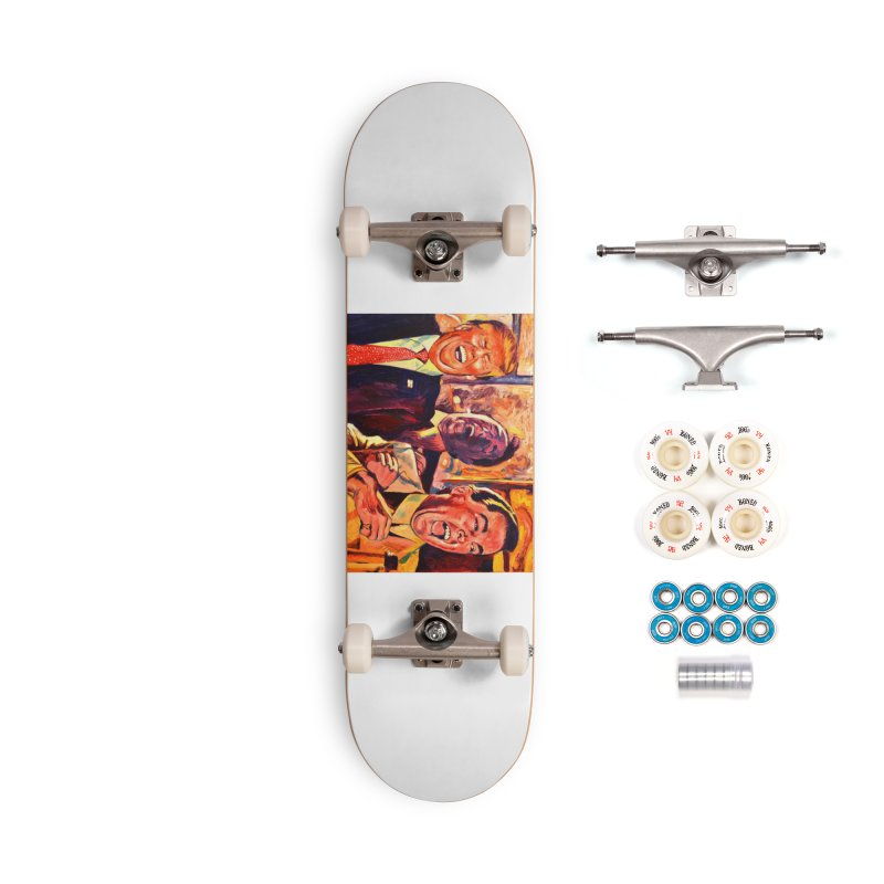 goodfellas Accessories Complete - Premium Skateboard by paintings by Seamus Wray