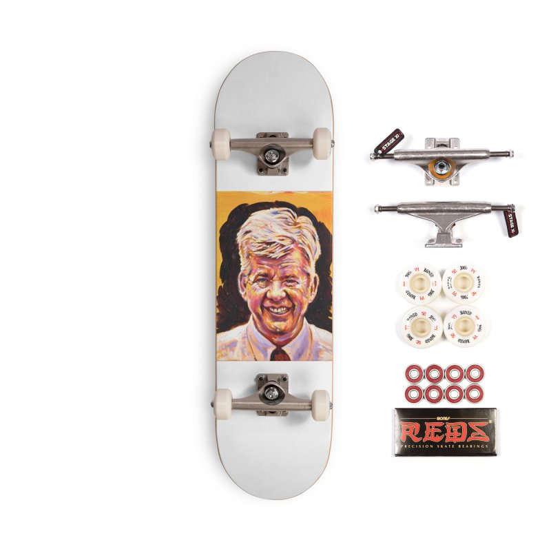 wally Accessories Complete - Pro Skateboard by paintings by Seamus Wray