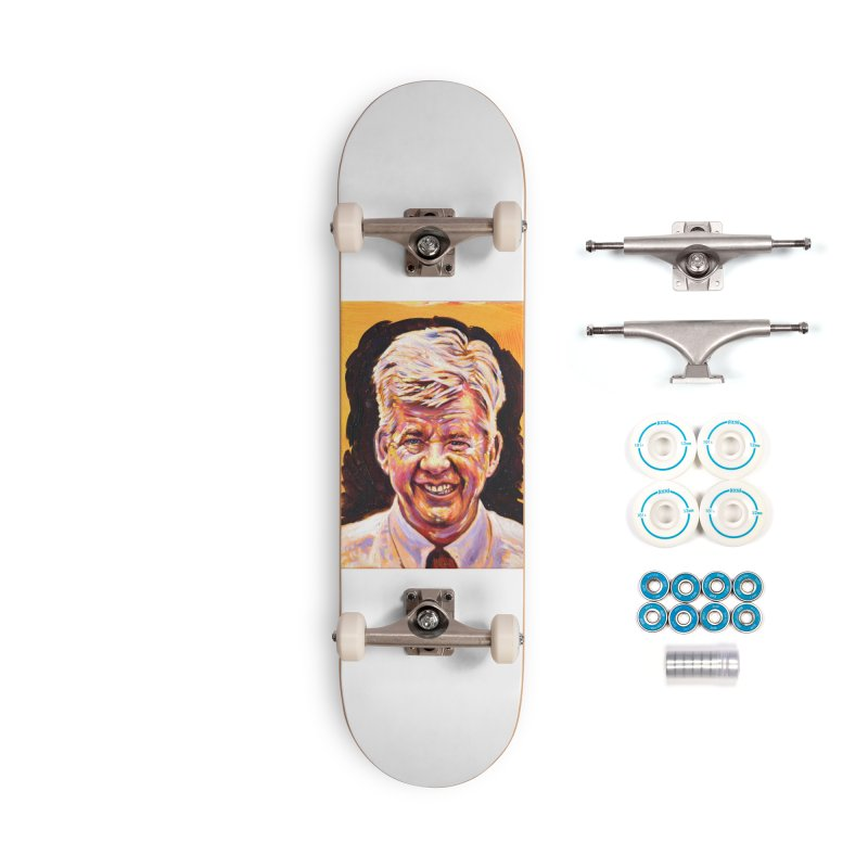 wally Accessories Complete - Basic Skateboard by paintings by Seamus Wray