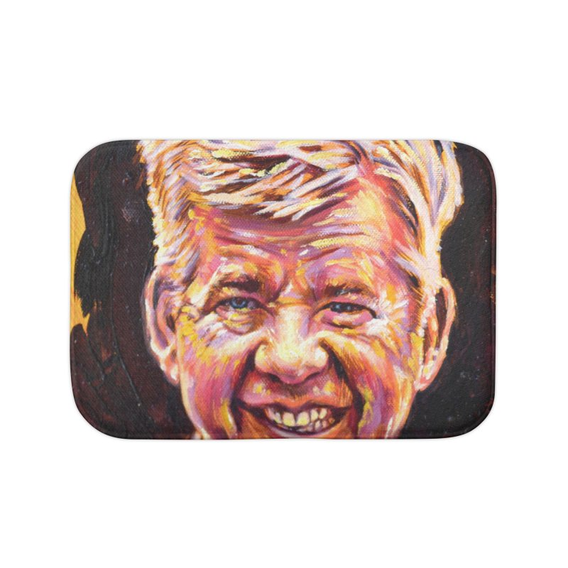 wally Home Bath Mat by paintings by Seamus Wray