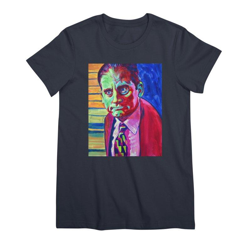 m. scott Women's Premium T-Shirt by paintings by Seamus Wray